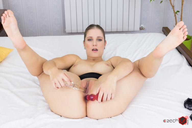 Jennifer Amton Penetrating Herself
