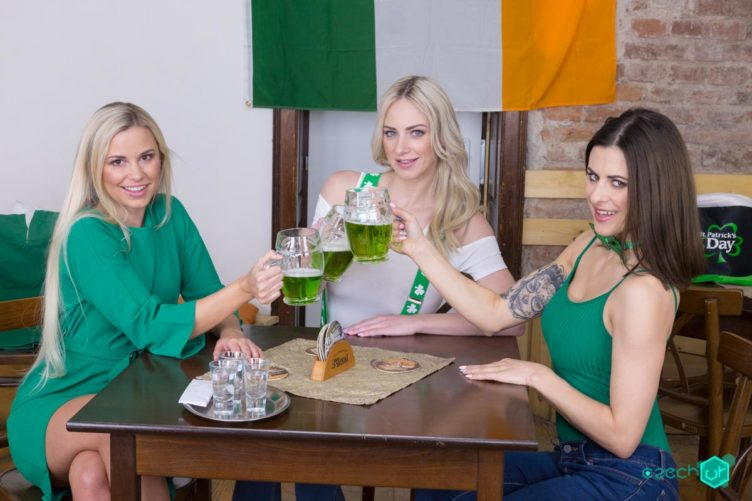 St. Patrick's Awesome Foursome – Natalie Cherie & Lola Myluv & Billie Star