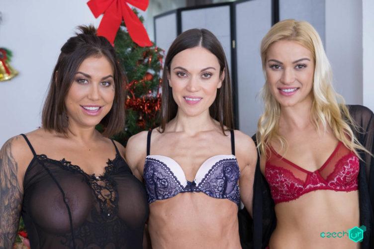 Special Gifts – Cherry Kiss & Alyssa Reece & Heidy Van Horny