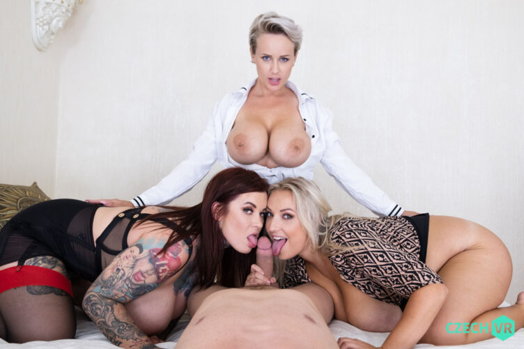 Six Melons to Fondle – Angel Wicky & Sabien DeMonia & Crystal Swift