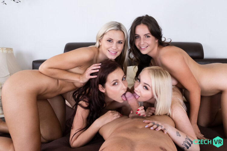 Party of Five – Lola Myluv & Antonia Sainz & Marilyn Sugar & Lenna Ross