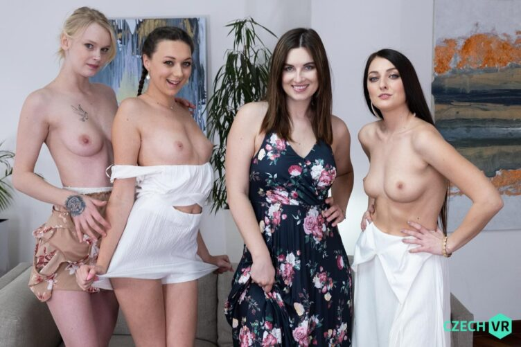 Toy Hunt: Part 1 – Jenifer Jane & Katy Rose & Isabela De Laa & Ariela Donovan